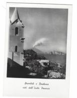 1238 - STROMBOLI E BASILUZZA VISTI DALL' ISOLA DI PANAREA MESSINA 1951 - Messina