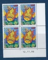 """Nle-Caledonie Coins Datés YT 781 """" Timbres De Souhaits """" Neuf** Du 12.11.1998 - Neukaledonien"""