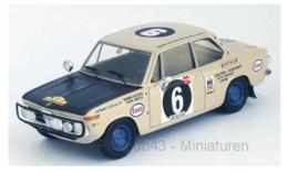 BMW 2002 Ti - R. Ulyate/I. Smith - East African Safari Rally 1971 #6 - Troféu - Trofeu