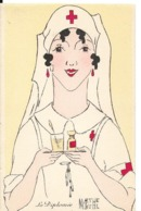CROIX ROUGE Illustrateur Marthe BUHL INFIRMIERE La Diplomate    ...G - Croce Rossa