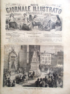 Nuovo Giornale Illustrato Universale 17 Aprile 1870 Ungheria Firenze Barcellona - Voor 1900