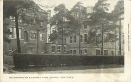 BOURNEMOUTH - Endowed High School For Girls. - Bournemouth (from 1972)