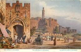 ISRAEL - THE JAFFA GATE IN JERUSALEM - LA PORTE DE JAFFA A JERUSALEM - Israel
