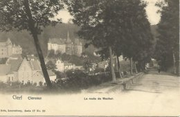 Antieke Cpa  Clerf, Clervaux. La Route De Mecher - Clervaux