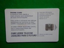 Télécarte Cap Vert, 1998, Utilisé, Traces - Kapverden