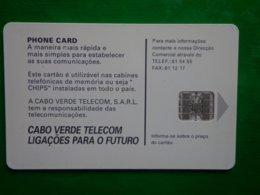 Télécarte Cap Vert, Pilon 1998, Utilisé, Traces - Kapverden