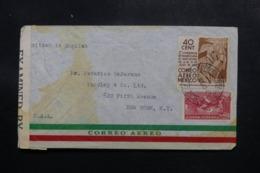 MEXIQUE - Enveloppe De Mexico Pour New York En 1942 Avec Contrôle Postal - L 47622 - Mexiko