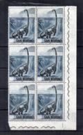 San Marino - 1965 - Animali Della Preistoria - Sestina Da 2 Lire - Nuovi ** - Con Bordo Di Foglio Angolare - (FDC18459) - Blocks & Sheetlets
