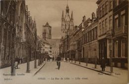 Ieper - Ypres // LA Rue De Lille (photo Antony) 19?? - Ieper