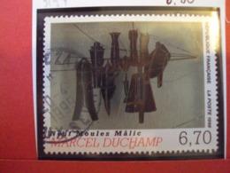 """1990-99 -timbre Oblitéré   N° 3197       """" Les Moules, De Marcel Duchamp      """"          Net       0.80 - Used Stamps"""