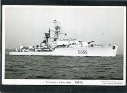 CPSM Format CPA - Escorteur D'Escadre TARTU - Warships