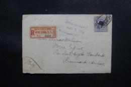 ETATS UNIS - Enveloppe En Recommandé De New York Pour L' Italie En 1910 - L 47635 - Marcophilie