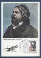 France - Carte Maximum - Théophile Gautier - Tarbes - 1972 - Maximum Cards