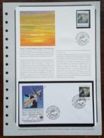 Nations Unies / Vienne - FDC 1989 + Timbre - YT N°93 - Veille Météorologique Mondiale - FDC
