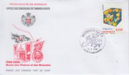 Enveloppe  FDC  1er  Jour   MONACO    EUROPA    2006 - 2006