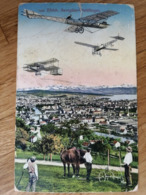 Original AK Wettfliegen Duebendorf 1910 - Meetings