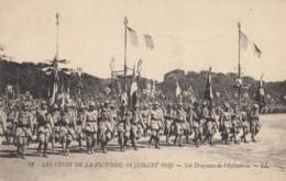 CPA - Les Fêtes De La Victoire - 14 Juillet 1919 - Les Drapeaux De L'Infanterie - Guerre 1914-18