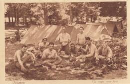 CPA - Infanterie - La Soupe Sous Bois - Regiments
