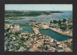 CPSM Gf. 22 . PIMPOL . Vue Aérienne . Le Port . - Paimpol
