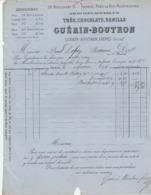 Paris - Guérin-Boutron - Thés-Chocolats-Vanille - Chocolat - Usine à La Vilette - 1876 - 1800 – 1899