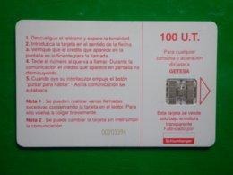 Télécarte Guinée-équatoriale, 100 Unités Utilisé, Traces - Aequatorial-Guinea