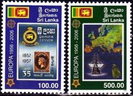 Europa Cept - 2006 - Sri Lanka - 1.Complete Set ** MNH - 2006