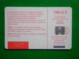 Télécarte Guinée-équatoriale, Unicom Sogea 100 Unités Utilisé, Traces - Aequatorial-Guinea