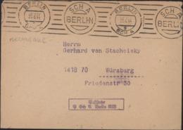 Oblitération Mécanique Berlin SCH A 23 6 44 S + SCH A Berlin Rare Double Couronne + Cachet Postfache - Briefe U. Dokumente