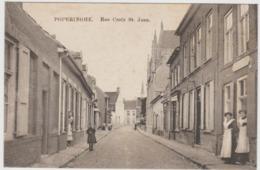 CARTE POSTALE   POPERINGHE (B)   La Rue Croix St Jean - Poperinge