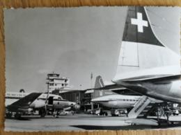 Flughafen Zurich Kloten Airport Um 1956 - Aérodromes