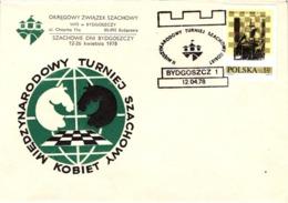 Chess Schach Echecs Ajedrez - Bydgoszcz. Poland 1978_2nd Women's International Tournament_Souvenir Cover_CKM 7815 - Schach