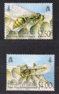 Pitcairn Islands 2011 Yvertn° 749-750 *** MNH Cote 15,00 Euro Faune Insectes Guêpes Wasp - Timbres