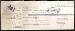ABI - BONNETERIE DE L ABBAYE TROYES 14/01/1953 - Lettres De Change
