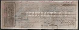 MAISON VERSTRAETE & CIE FILATURE DE LIN - 22/02/1859 - Lettres De Change
