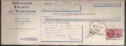 SPECIALITE PICARDE DE VETEMENTS - 29/04/1952 - Lettres De Change