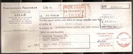 ETABLISSEMENTS FAUCHEUR - 30/01/1956 - Lettres De Change