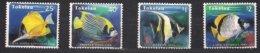 Tokelau 1995  Yvertn° 213-216 *** MNH Cote 7,50 € Faune Poissons Vissen Fish - Tokelau