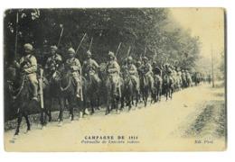 CPA MILITAIRE GUERRE 1914 PATROUILLE DE LANCIERS INDOUS - Guerre 1914-18
