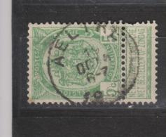 COB 56 Oblitération Centrale AELTRE - 1893-1907 Wapenschild