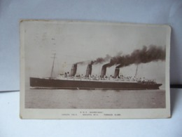 R.M.S . MAURETANIA LENGTH 788 Fi BREADTH 88 TONNAGE 31 000 CPA 1922 - Dampfer