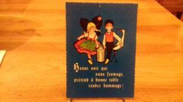 PUB. LES PETITS AMIS Fromages D'Alsace (käse Aus Frankreich) Pub (S47.19) - Publicité