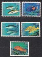 Micronesie Micronesia 1995 1996  Yvertn° 356-59 Et 387 *** MNH Cote 19,75 € Faune Poissons Vissen Fish - Tokelau