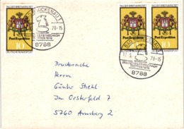 Chess Schach Echecs Ajedrez - Bad Brückenau. West Germany 1978_23th West German Correspondence Chess Meeting_Card_CKM 78 - Schach