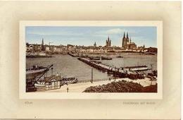 Ansichtskarte Köln Panorama Mit Rhein 1911  - Koeln