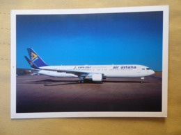 AIR ASTANA   B 767    AIRLINE ISSUE / CARTE COMPAGNIE - 1946-....: Era Moderna