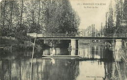 27 MARCILLY SUR EURE - LE PONT DE FER - Marcilly-sur-Eure