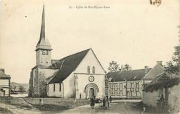 27 MARCILLY SUR EURE - VUE D'ENSEMBLE MAIRIE EGLISE MONUMENT AUX MORTS - Marcilly-sur-Eure