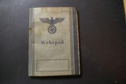 WW2 - Wehrpas - Documents