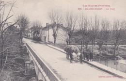 [65] Hautes Pyrénées > Maubourguet Le PONT LES HAITES (ATTELAGE DE BOEUFS ) N° 635  Labouche - Maubourguet