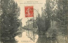 27 MARCILLY SUR EURE - PERSPECTIVE ET LE PONT DE FER - Marcilly-sur-Eure